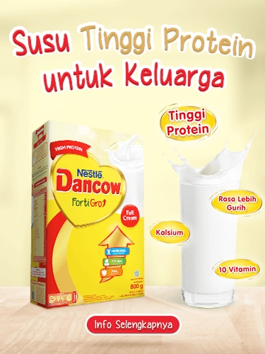 DANCOW FortiGro Full Cream Mobile Banner