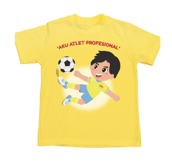 Collectible T-Shirt Image Atlet Professional