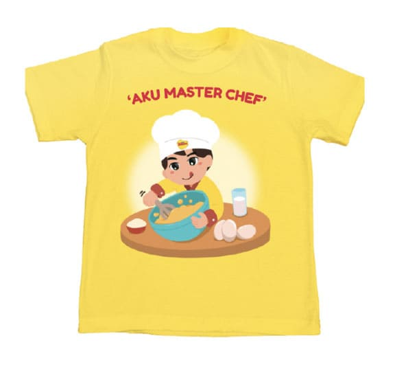 Collectible T-Shirt Image Master Chef