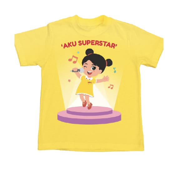 Collectible T-Shirt Image Superstar